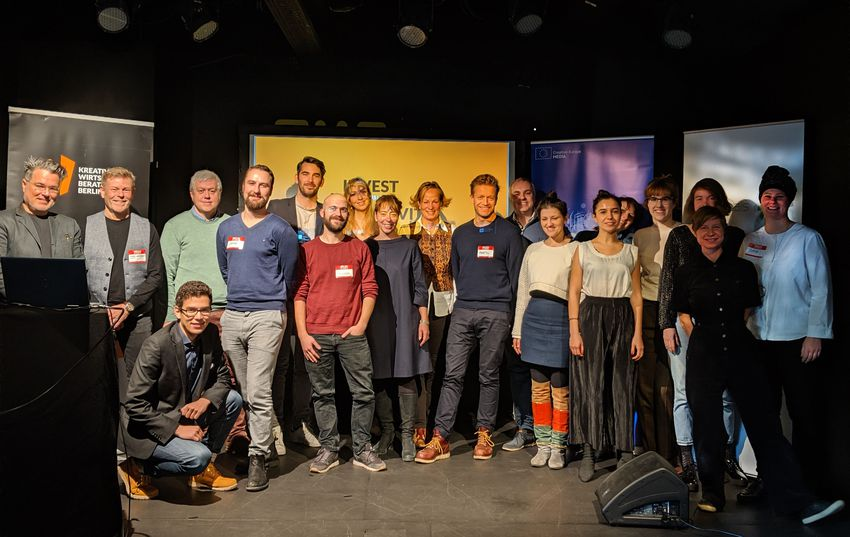 This was the Pitching Event of Invest in Creativity - Investors Lab Berlin 2019!