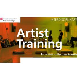 Artist Training INTERDICSICPLINARY COLLECTIVES I