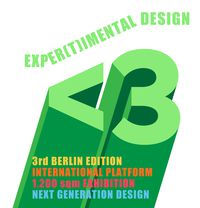 CALL FOR ENTRIES: EXPER(T)IMENTAL DESIGN @ BERLIN DESIGN WEEK