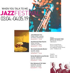 JAZZ FESTIVAL -WHEN YOU TALK TO ME- 2019