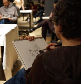 Life Drawing Session - Creative City Berlin