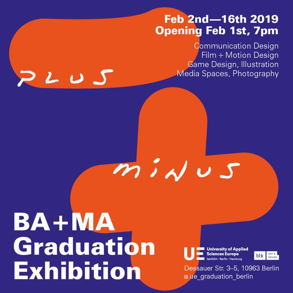 Plus Minus Bachelor And Master Exhibition In Berlin