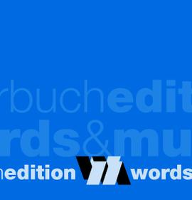 hoerbuchedition words and music