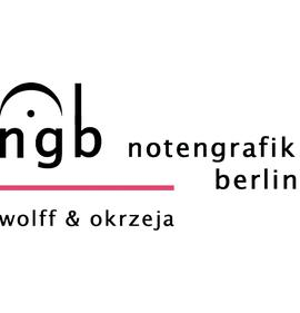 Notengrafik Berlin