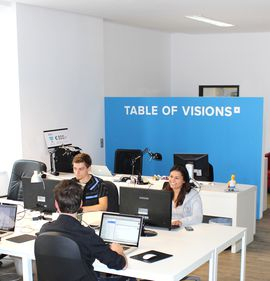 TABLE OF VISIONS, co-working space