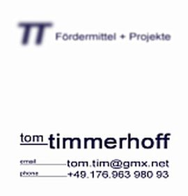 TT — Fördermittel + Projekte, | Tom Timmerhoff — funds + projects