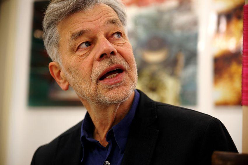 """Tom Albrecht: """"Gerade jetzt braucht es die Kunst"""" Foto: Jens Thomas"""