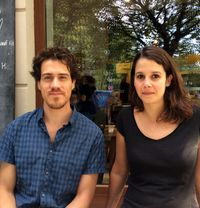 "Mathilde Ramadier and Alberto Madrigal: ""First grow up before you come to Berlin!"""