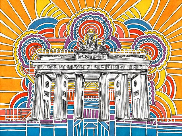 Berlin Illustrationen