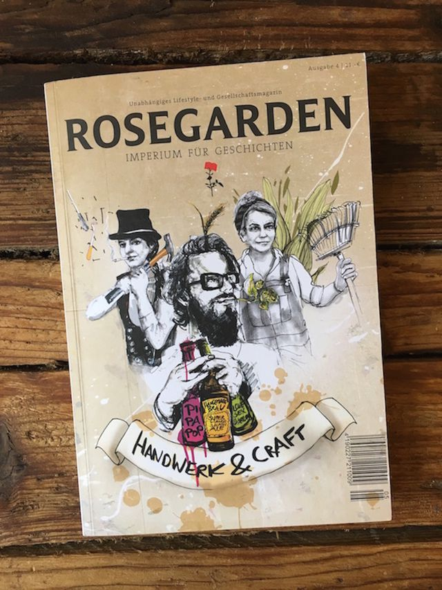 "Rosegarden Issue 4 ""Handwerk und Craft"""