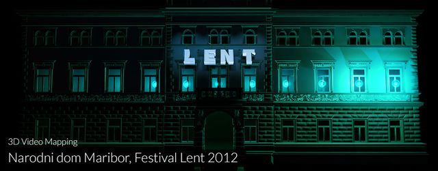 3D Video Mapping Festival Lent