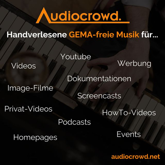 audiocrowd - royalty free music (no P.R.O.)