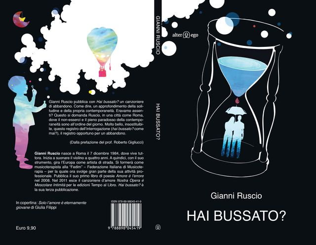 "Published Book Cover for the book ""Have you knocked?"" by Gianni Ruscio,Rome,Italy"