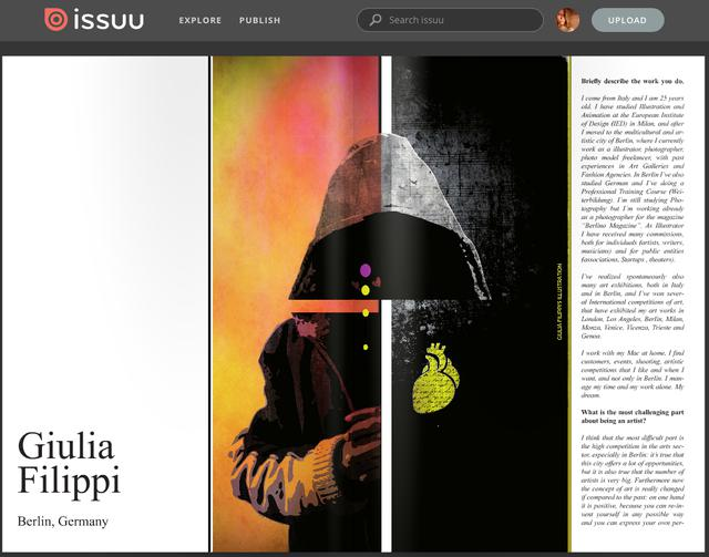 "PuBLICATION ON THE MAGAZINE ""Art Reveal"""