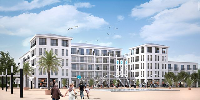 resort development in northern germany