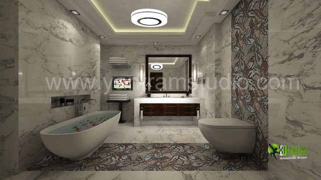 Interior 3D Rendering CGI Design