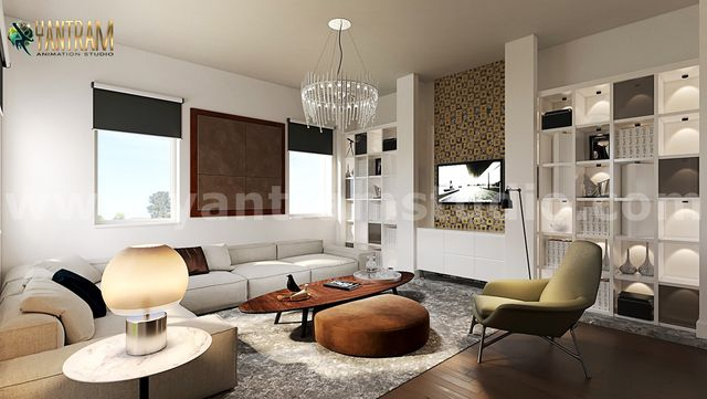 Impressive Residential Interior Design for Home by 3D Animation Studio, Brisbane – Australia