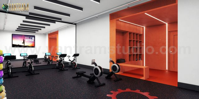 Interior design ideas for GYM